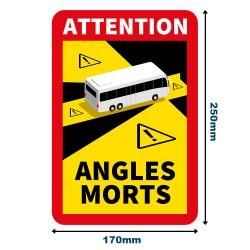 "Adhésifs ""ATTENTION ANGLES..."