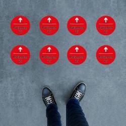 Sticker rond 200x200mm -...