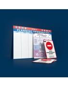 Panneaux d'informations sanitaires - format A1
